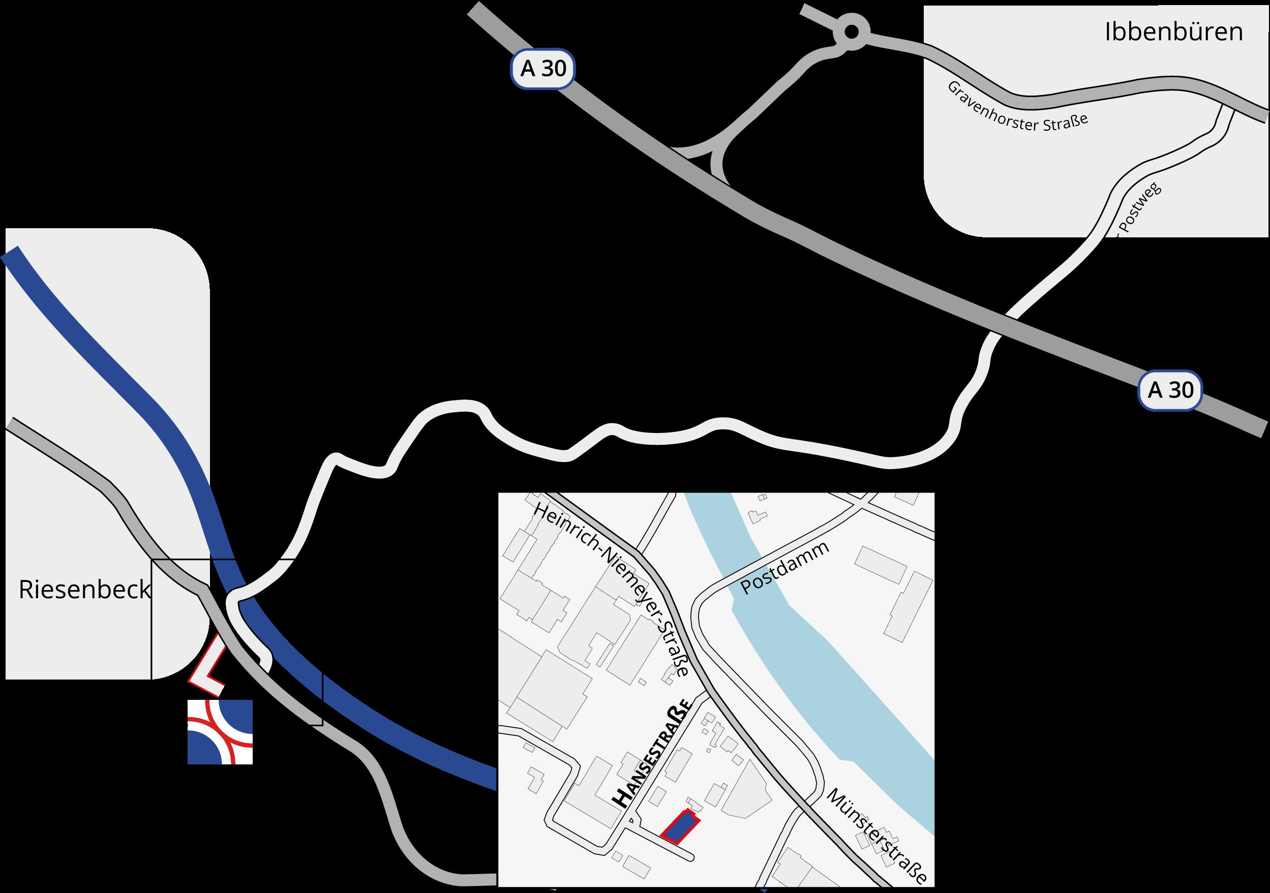 Google Maps Kartenansicht